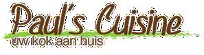 Paul's Cuisine: Uw kok aan huis in Tilburg